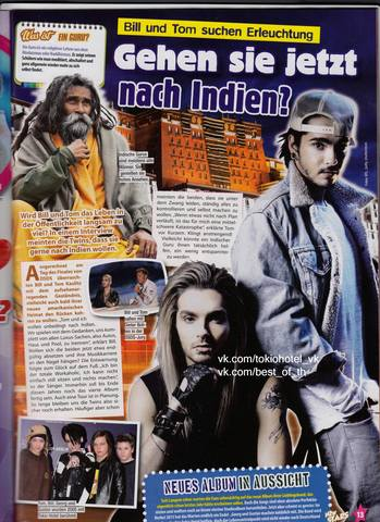 revista-New-Stars-alemania-tokio-hotel-2013