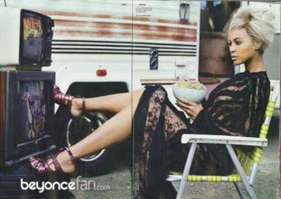 >Beyonce en couv' de Dazed & Confused