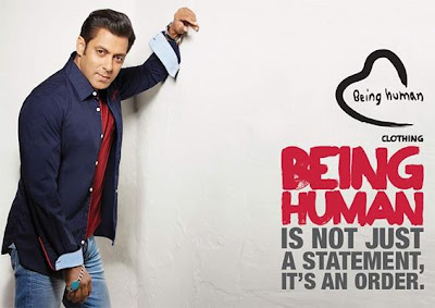 Salman Khan's Photoshoot for Being Human Summer 2013 Collection