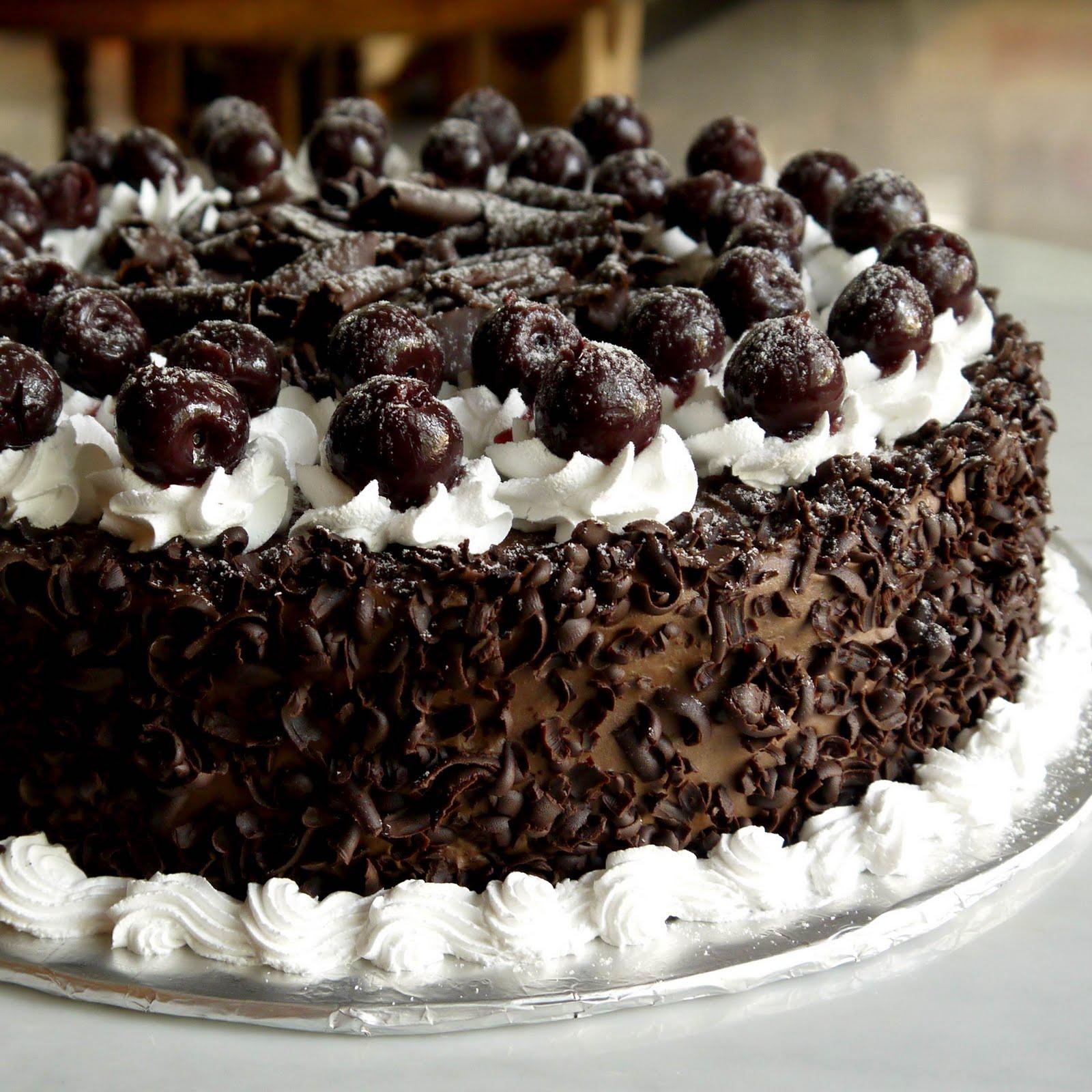 Sweet Indulgence Kuching: Black Forest Cake
