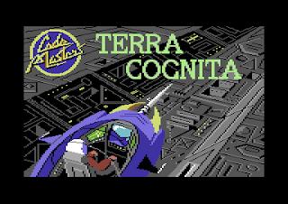 Pantalla de carga del casete con el videojuego de Codemasters: Terra Cognita, 1986