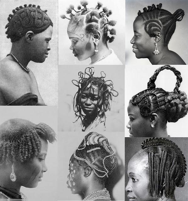 peinados, africa, fotos