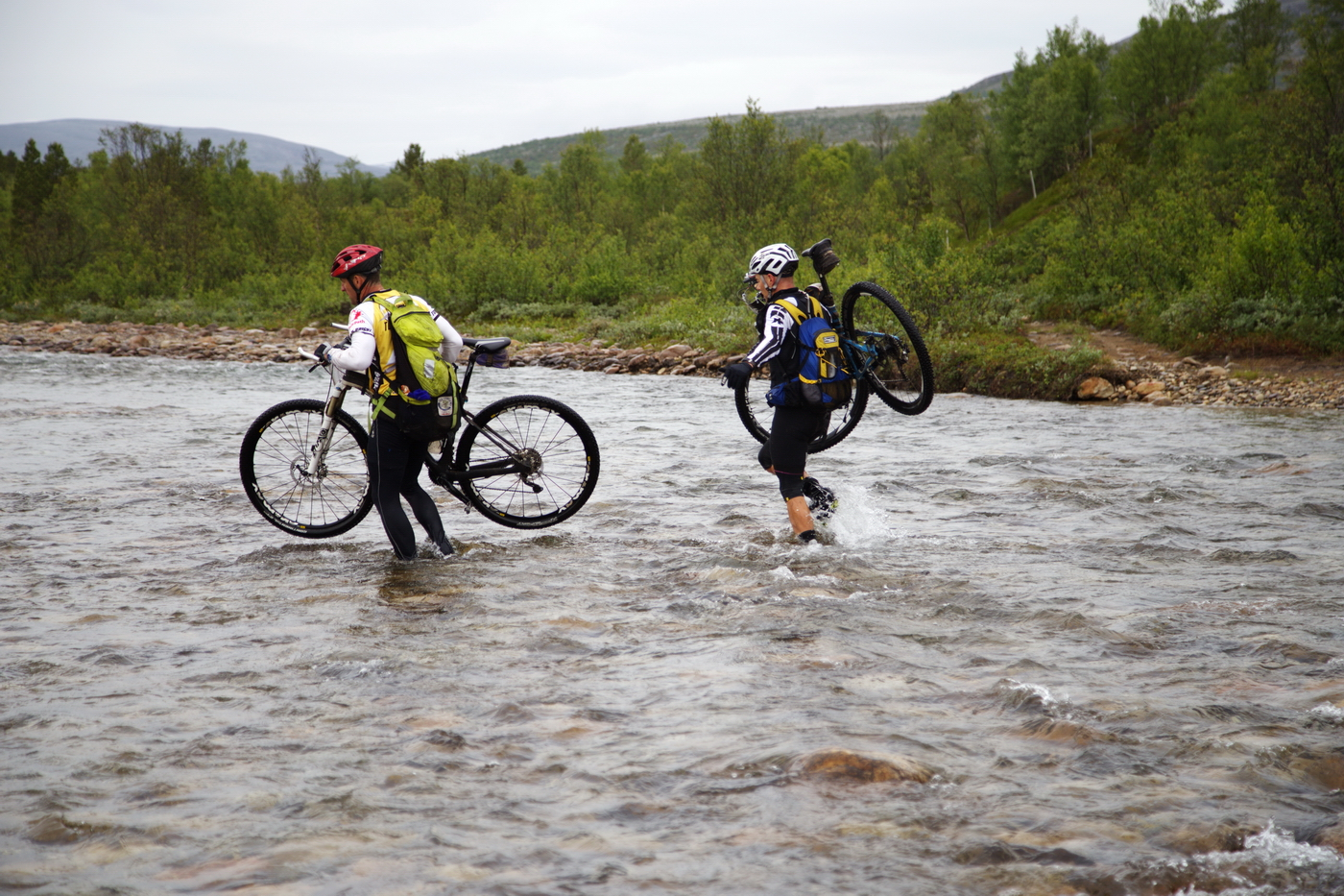 test offroad sykkel 2015