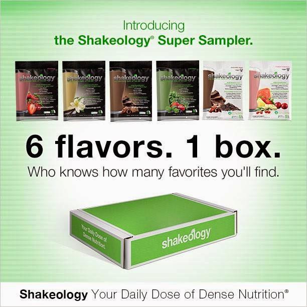 Shakeology Super Sampler - Shakeology Samples All Flavors