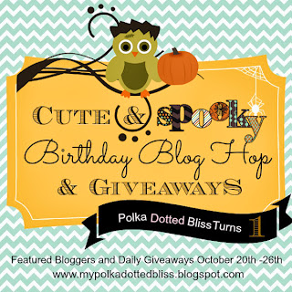 Polka Dotted Bliss Blog Hop