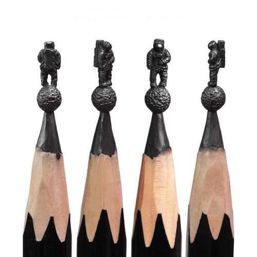 16-Astronaut-Salavat-Fidai-Салават-Фидаи-Architectural-Movie-Pencil-Sculpture-Carving-www-designstack-co