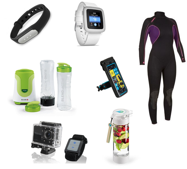 Christmas Gift Guide for Fitness and Adventure lovers