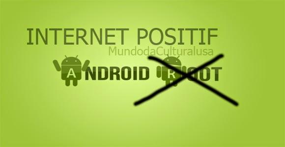 Cara buka Internet Positif di HP tanpa Root