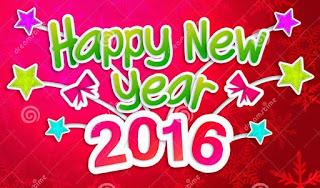 Gambar Ucapan Selamat Tahun 2016 Happy New Year