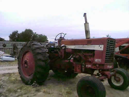 International 656 tractor parts for sale