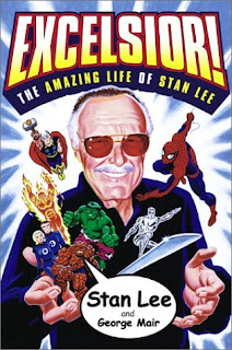 Review Excelsior The Amazing Life of Stan Lee Biography Autobiography George Mair Fireside Marvel Cover trade paperback tpb comic books nonfiction