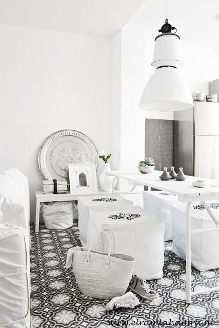 i ♡ Morocco | Moroccan interior by El Ramla Hamra