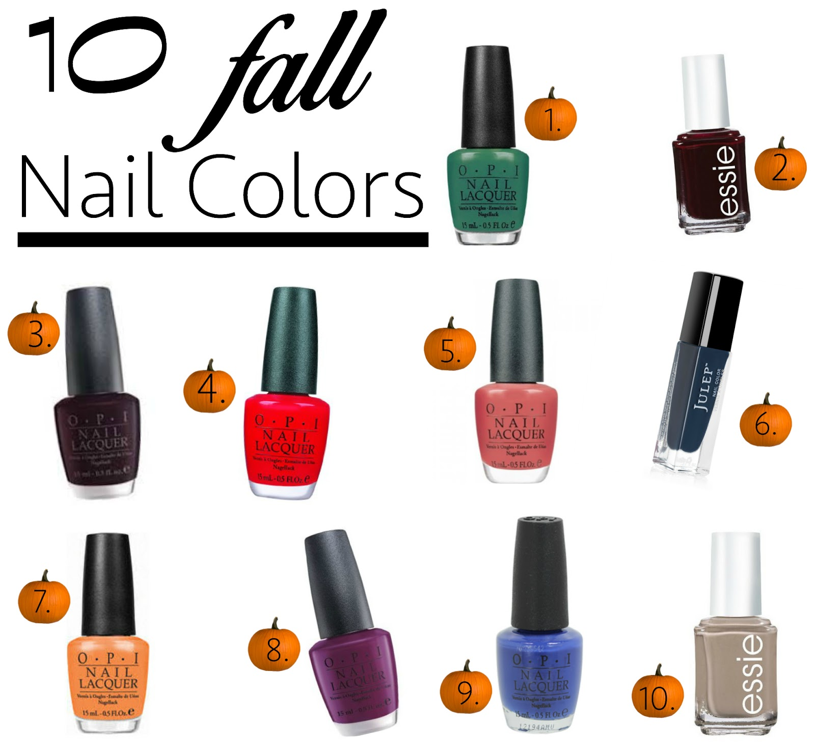 nail polish for fall