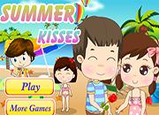 juegos de besos de verano