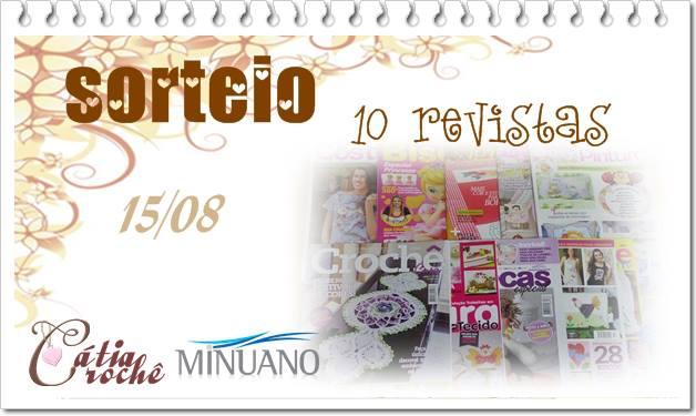 SORTEIO 15-08 CÁTIA CROCHE