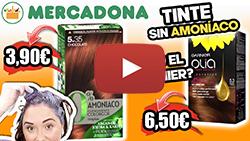 TINTE MERCADONA SIN AMONIACO, ¿ES COMO EL OLIA DE GARNIER?