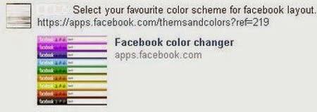 Facebook Color Changer - thay đổi màu nền trang FB