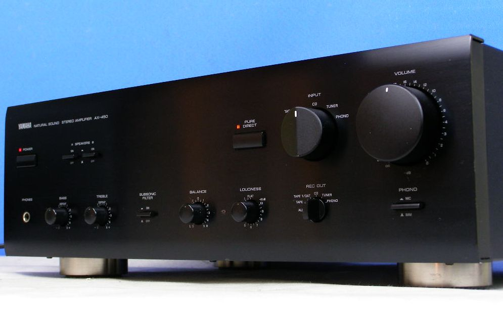 Yamaha M Amplifier Specifications