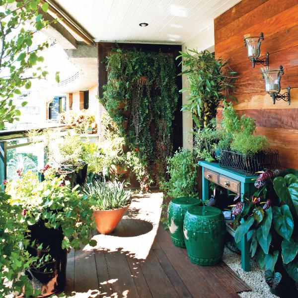 quintal jardim decoracao : quintal jardim decoracao:Decoração de varandas.