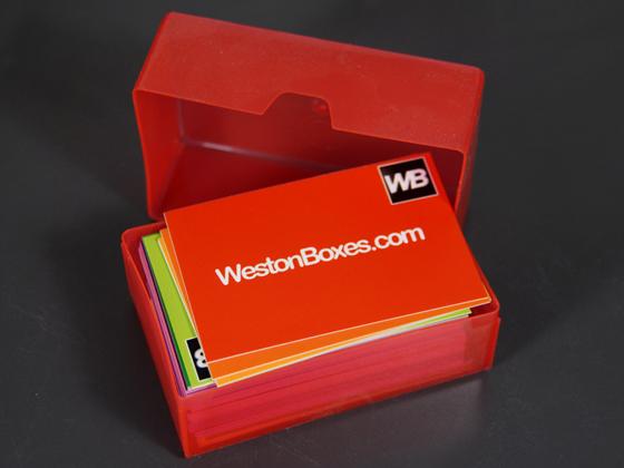 Plastic boxes storage solutions plastic business card boxes colourmoves