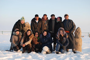 And these are some of my brilliant team (on a winter picnic!)