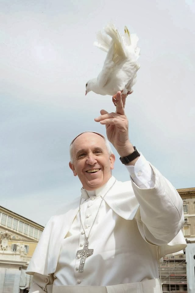 Papa Francisc. Clik pe fotografie