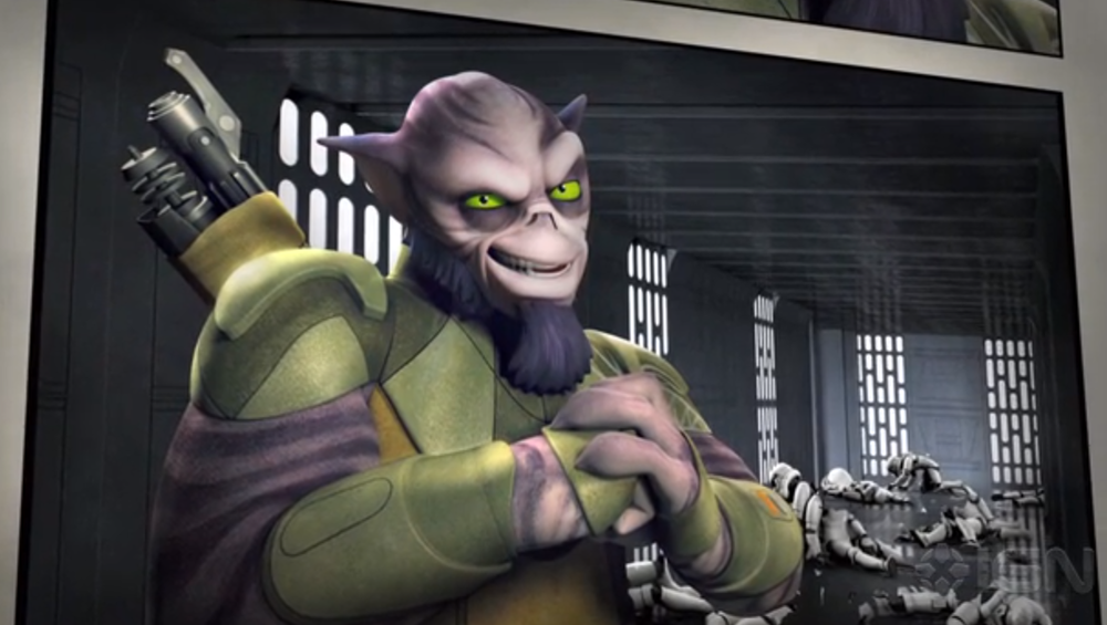 the geek flag star wars rebels zeb