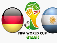 Head to Head Jerman VS Argentina Final Piala Dunia 2014