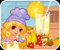 Nước chanh mùa hè, chơi game nấu ăn online