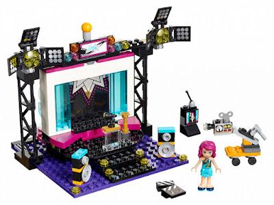 TOYS : JUGUETES - LEGO Friends  41117 Estrella del Pop : Estudio de Television  Pop Star : TV Studio  Producto Oficial 2016 | Piezas: 194 | Edad: 6-12 años  Comprar en Amazon España & buy Amazon USA
