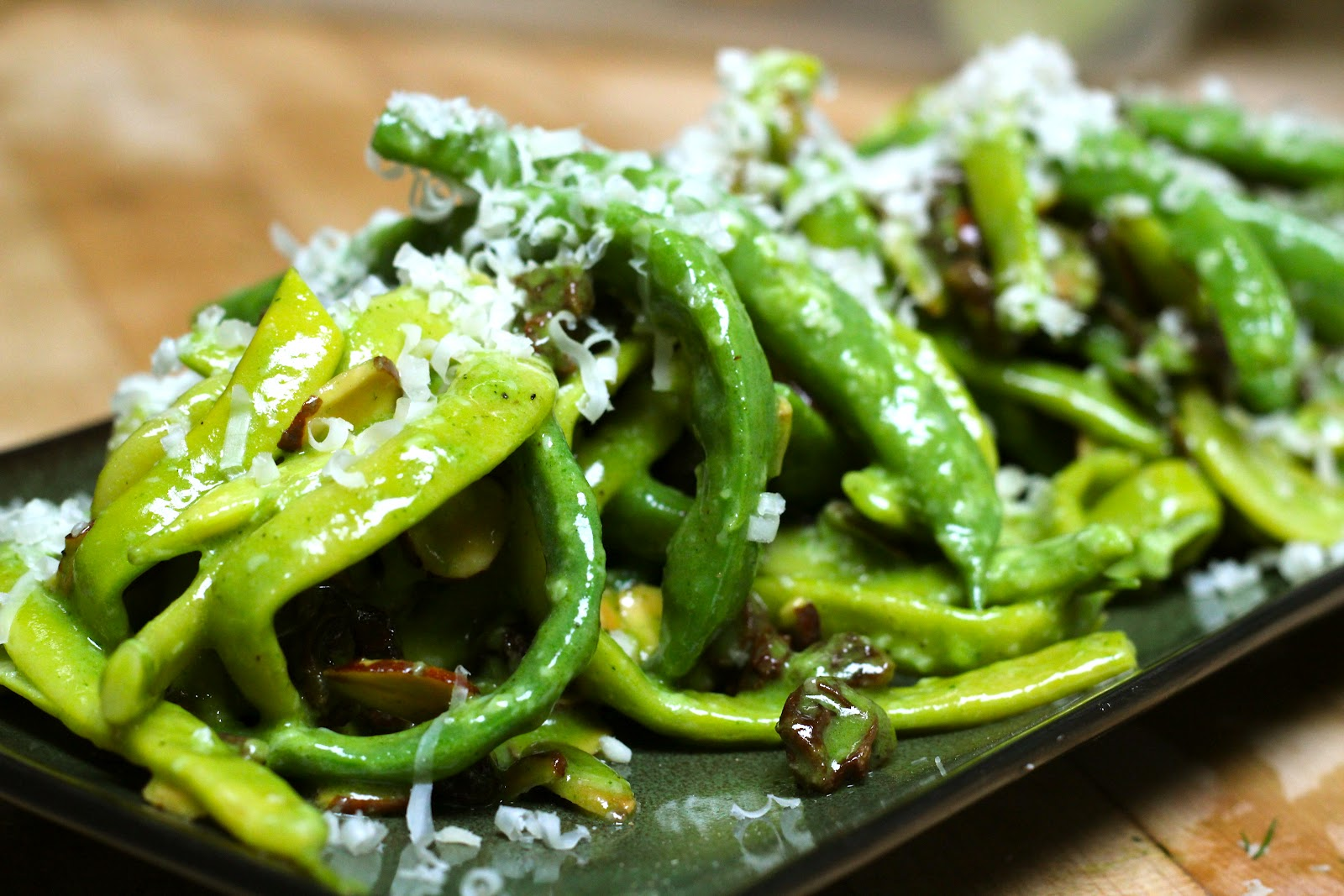 how to make boiled green beans taste good