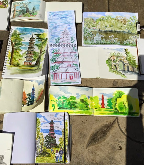 Winning Urban Sketchers London May  With Excellent Sketches Of The Pagoda At Kew Gardens With Nice Iver Garden Centre Also Lunch Places Covent Garden In Addition Garden Of Eden Movie  And Childs Gardening Set As Well As Small Back Garden Designs Additionally Suntime Garden Furniture From Urbansketcherslondonblogspotcom With   Excellent Urban Sketchers London May  With Nice Sketches Of The Pagoda At Kew Gardens And Winning Iver Garden Centre Also Lunch Places Covent Garden In Addition Garden Of Eden Movie  From Urbansketcherslondonblogspotcom