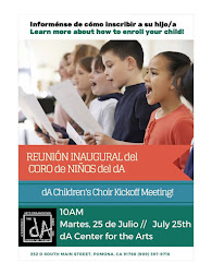 da Children's Choir Kickoff Meeting