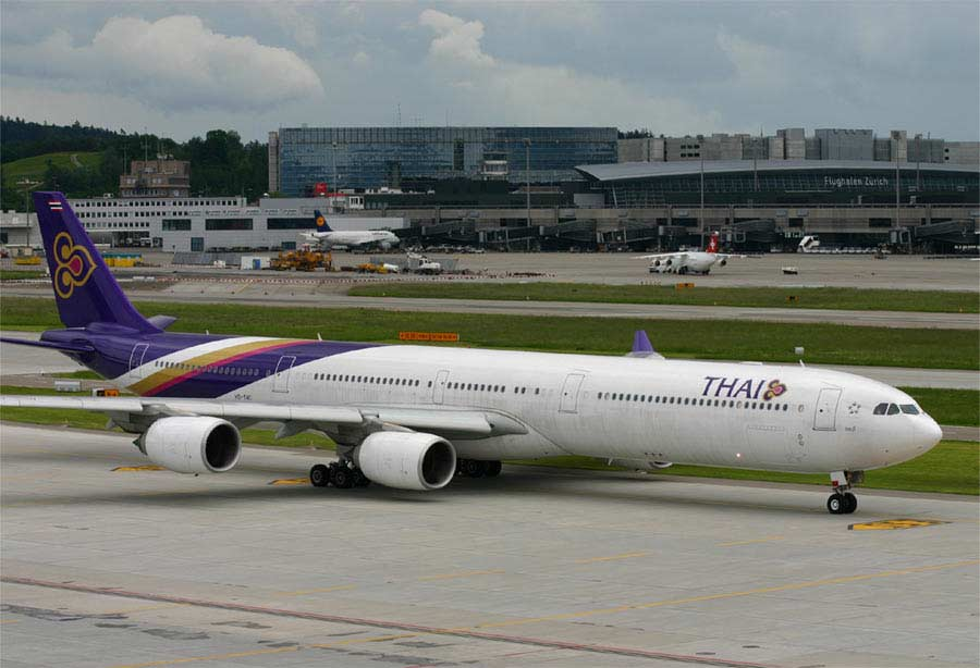 Download this Aircraft Thai Airways Picture Via Widebodyaircraft picture