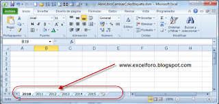 VBA: El evento WorkBook open en macros de Excel