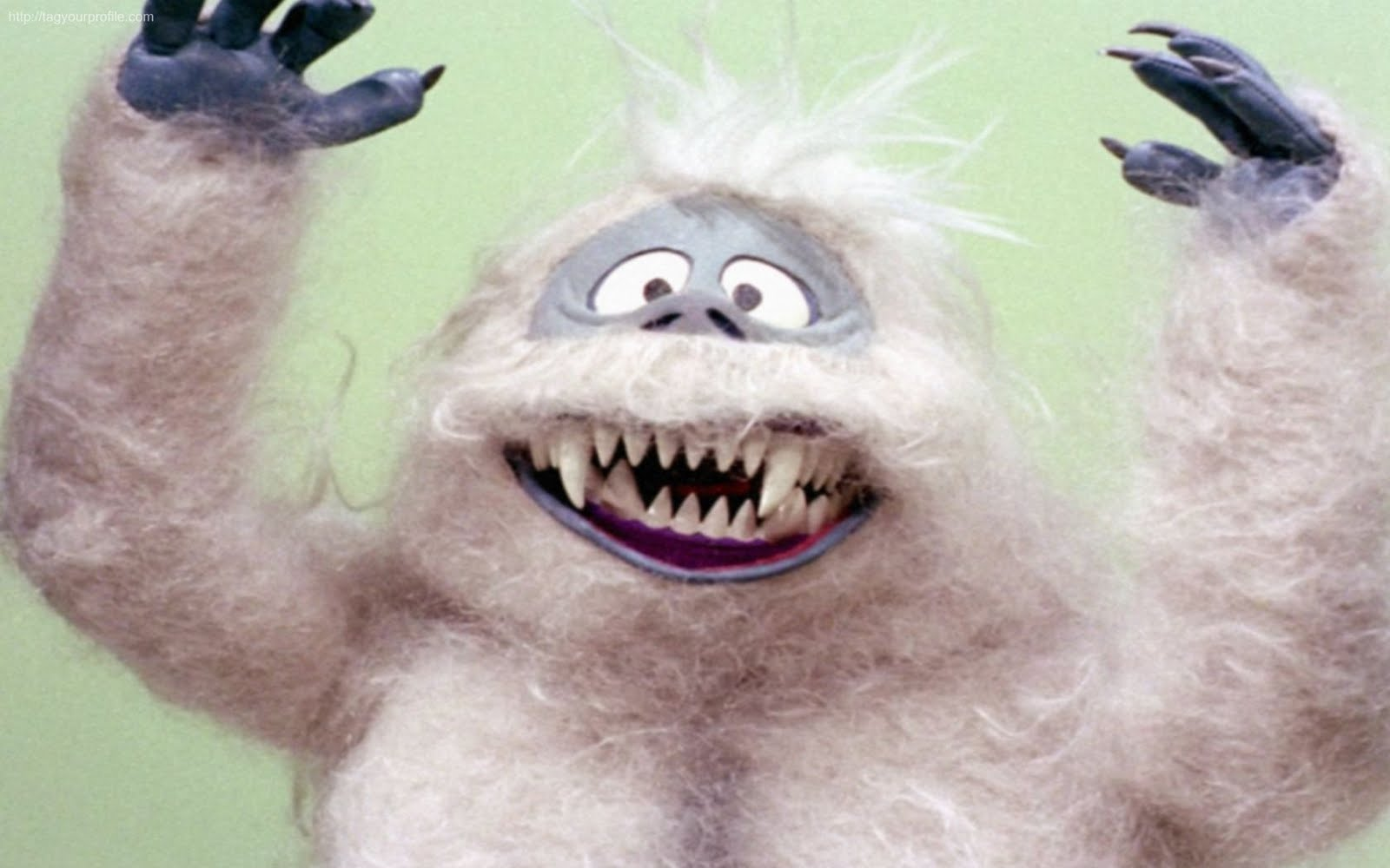 Rudolph the red nosed reindeer snow monster - photo#2