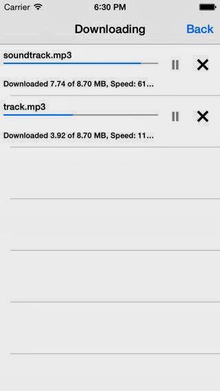 تطبيق مجاني مميز لإدارة وتشغيل الوسائط المتعددة والتحميلات من الانترنت للآيفون والآيباد والآيبود تاتش MyMedia - Download Manager IPA-iOS