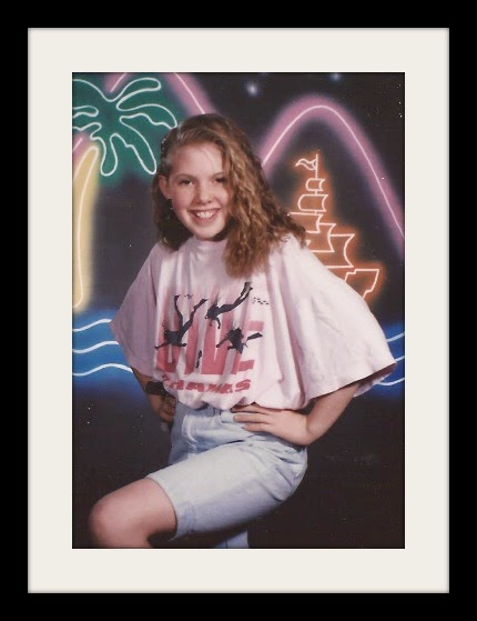School Photos: Vicki in 6th Grade