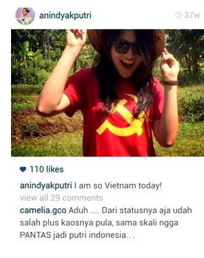 Puteri Indonesia 2015 Anindya Putri