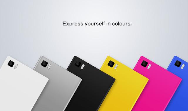 Xiaomi Mi3 Colours