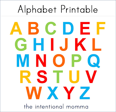 Also consider purchasing this super simple Alphabet Pack or Preschool ...