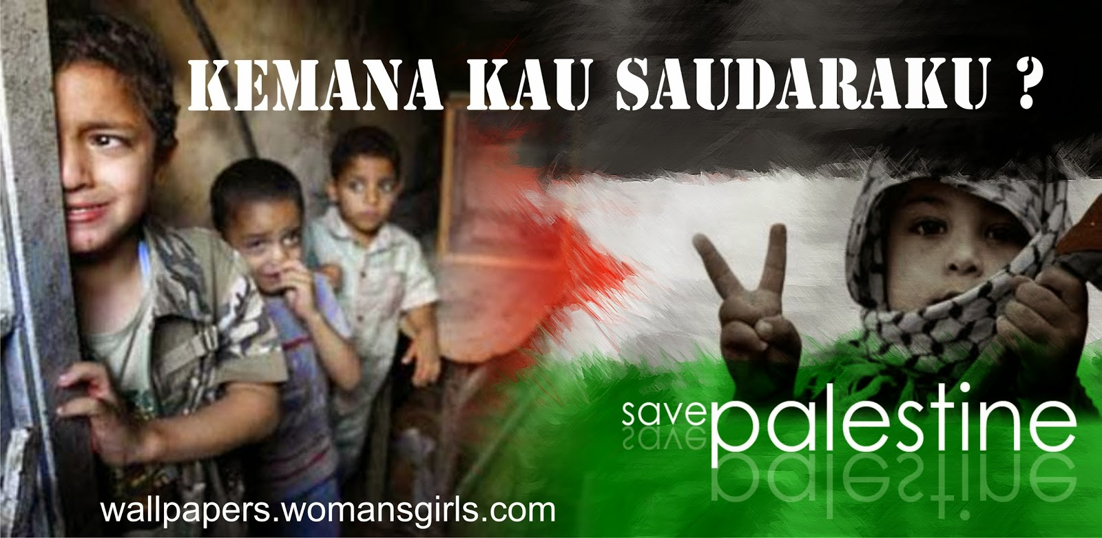 selamatkan gaza dan palestina