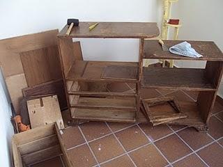 El desv n de mis trastos mueble customizado - Muebles el desvan ...