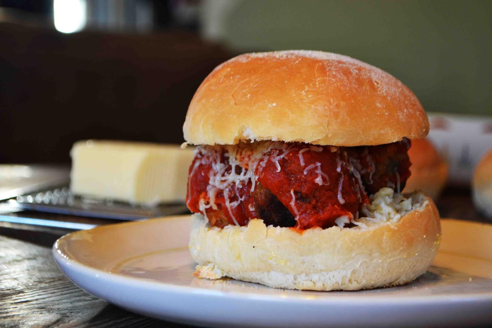 """Meatball"" Sliders - Baked New England"