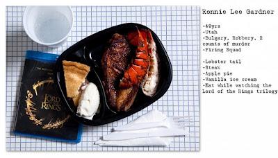 Makanan Terakhir Sebelum Jalani Hukuman Mati (8 Foto)