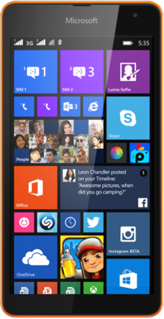 spesifikasi lumia 535