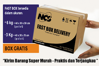 PT NCS jasa pengiriman barang dan dokumen untuk online shop