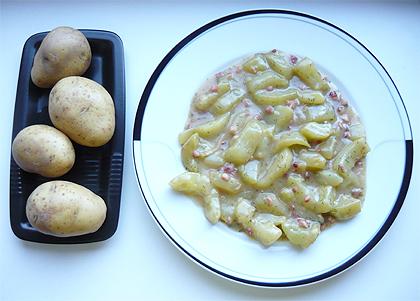 Kochen mit Carmen - Beschwipstes Kochen: Schmorgurken mit Pellkartoffeln