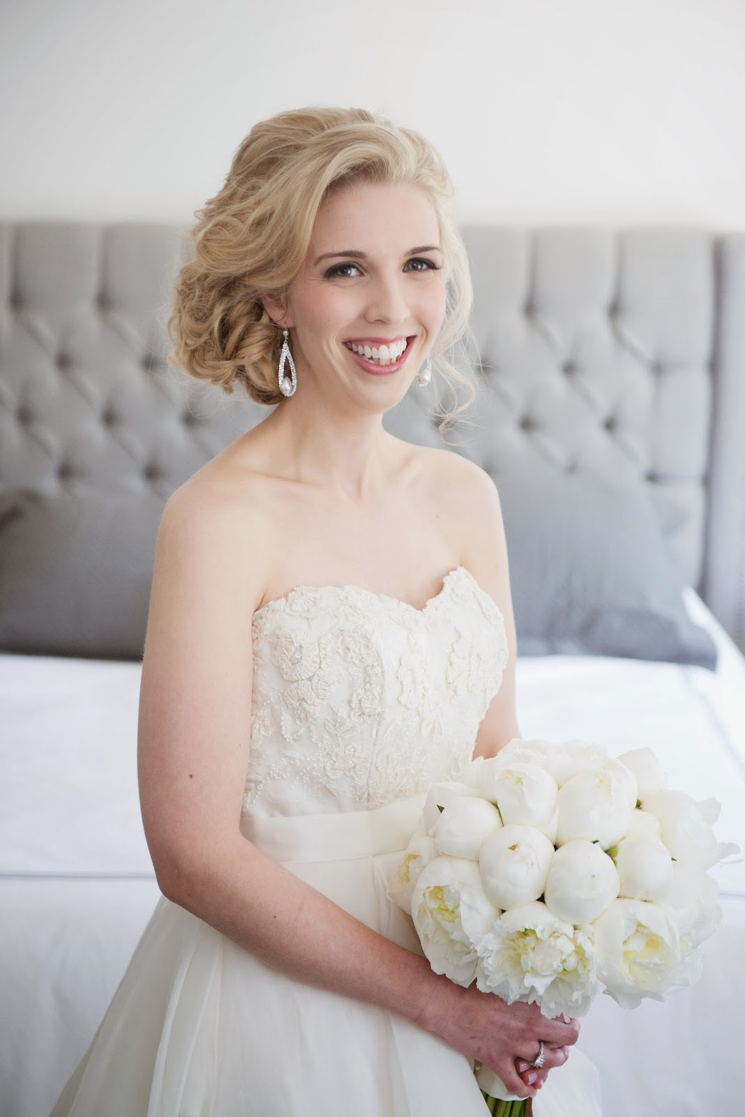 Jessica Jean Myers: Adrianna - Bridal Updo with Extensions