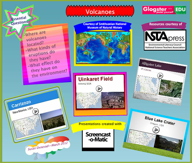 use glogster screencasts to maximize student presentations cool